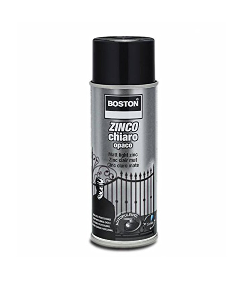 Zinco chiaro opaco spray 400ml